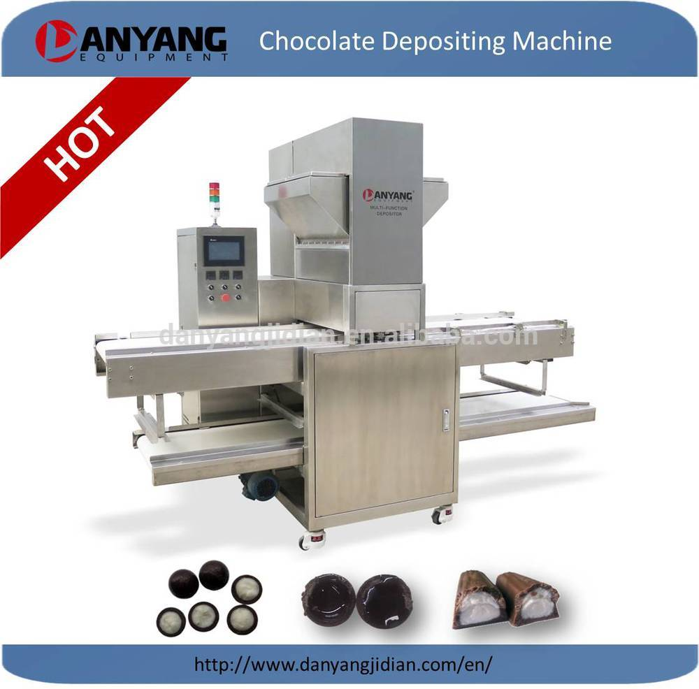 one depositor chocolate machine