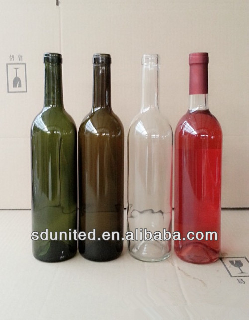 wholesale 750ml glass red wine bottle products china