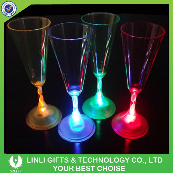 Lighted flashing led champagne flute products china lighted flashing led champagne flute supplier - Flute a champagne led ...