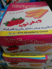 Cheap price for Wafer biscuits , in Chocolate , Vanilla , Strawberry