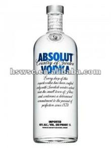 Absolut Blue Vodka 1000ml