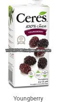 Ceres 100% Pure Juice Blend Youngberry 1L - No Sugar Added