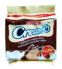 CREAM O SANDWICH COOKIES WITH CHOCOLATE FLAVOURED CREAM PACK 13G/CREAM O BISCUITS/CHOCOLATE SANDWICH