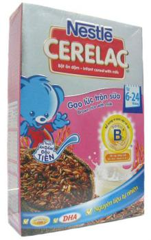INFANT CEREAL WITH MILK