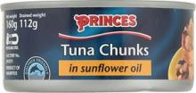 Princes tuna in s/f oil