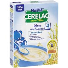 CERELAC Rice Infant Cereal (From 4 months) Baby Health Probiotics Rich in Iron