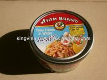 Ayam Brand Tuna Flakes in Water Light 185g