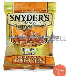 Snyder's pretzel / Cheddar cheese / Cheese / Snack / Wine / Beer