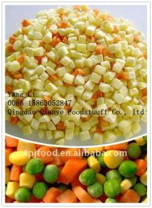Flavorful iqf frozen mixed vegetables(sweet corn carrot green pea green bean)