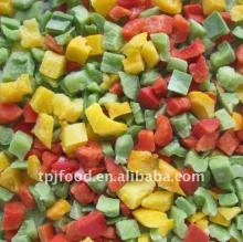 IQF mixed vegetables (cut beans, carrot dices,green peas)
