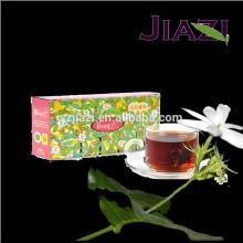 Puer jasmine flavored tea