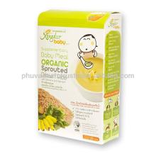 Instant Brown Rice Powder (Banana + Spinach) (Box)
