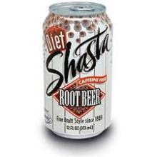 Shasta Diet Root Beer Soda