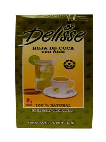 1 Box Tea Coca Leaf with Anisette Delisse (100 bags)