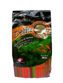 1KG/BAG ~ Powdered Coca Tea Delisse ~ Andean Coca Flour Made in Peru