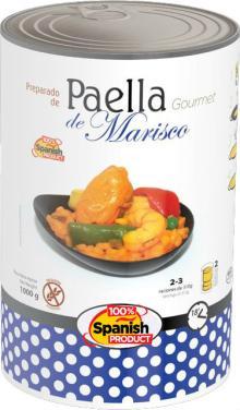 Seafood Spanish Paella - Paella de Marisco Espanola