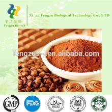Food grade alkalized cocoa powder