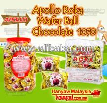 Apollo Roka Wafer Ball Chocolate