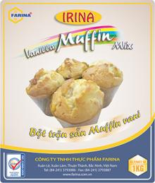 Irina - vanilla muffin mix