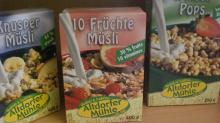 Ten fruits muesli