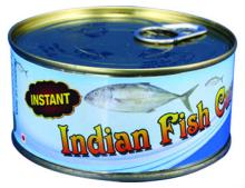 Instent Indian fish curry