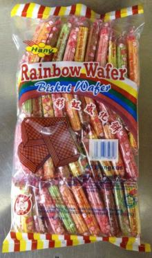 Hany's Rainbow wafer