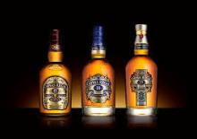 Chivas Regal Scotch Whiskey 12, 18, 21, 25 years old