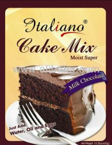 Italiano Cake Mix Milk Chocolate