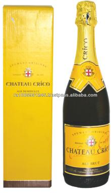 "Champagne ""Chateau Crico"", semisweet, 0,75L"
