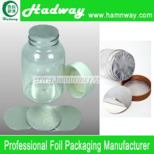 Aluminum Foil Induction Heat Sealing Liner Wads For Pet Bottle
