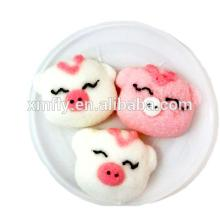 Halal Pig Shape Marshmallow Cotton Candy