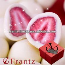 Japanese White chocolate in freezedryed strawberry 100g
