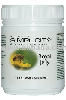 Royal Jelly 180 x 1000mg Capsules