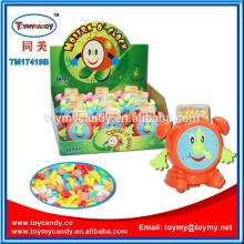 Good quatity shiny color kid toy made in China modern O'clock for one dollar shop sell moving ha