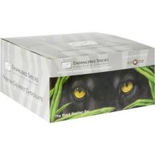 Endangered Species Dark Chocolate, Extreme, The Black Panther Bar - 12 pack, 3 oz bars
