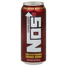 NOS Loaded Cherry Energy Drink