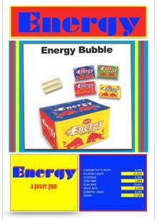 Energy Power Gum