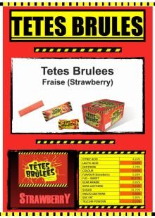 Tetes Brulees Strawberry