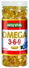 Omega 3-6-9 Softgels Natural Health Food Supplement