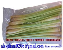 Fresh Lemongrass, Frozen Lemongrass, Dried Lemongrass, Lemongrass Powder