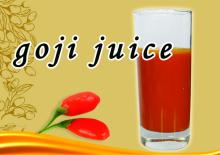 100% pure natural goji berry fruit juice