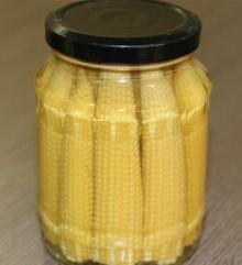Small Canned Baby Corn Nutrition