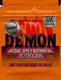 Demon herbal incense potpourri