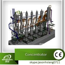 triple Effect Falling Film Evaporator For Continuous Evaporation And Concentration (CE approved)
