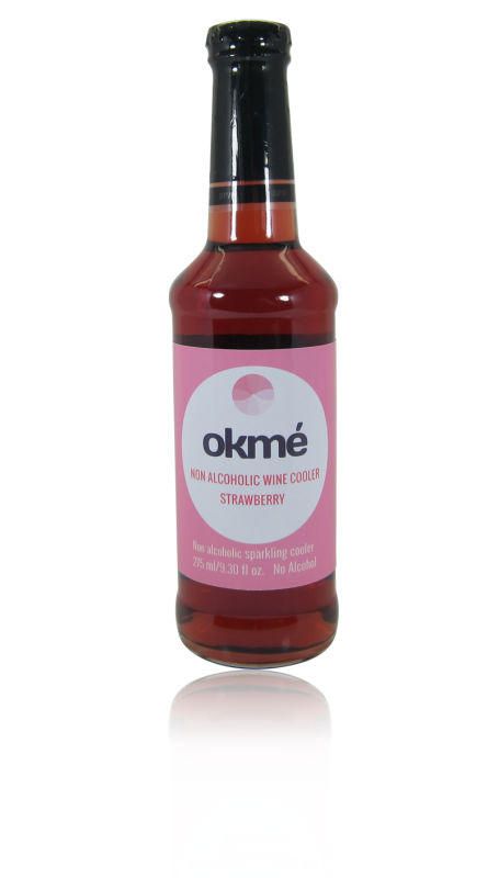 Non Alcoholic Wine Cooler, Strawberry Flavor