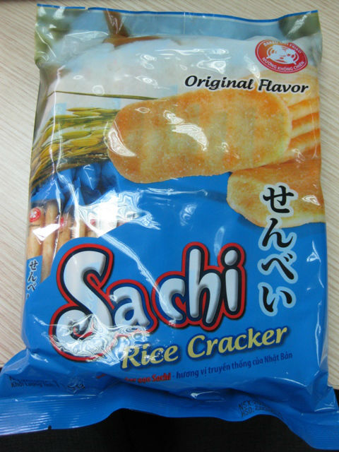 sachi rice crackers products