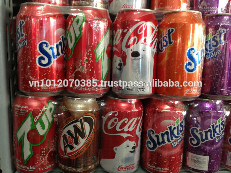 High-Quality Carbonated Strawberry/ Grape Flavoured Juice 325ml
