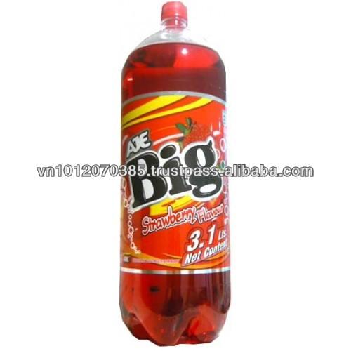 Big Cola Strawberry Flavour Refreshing Soft Drink 3,1L