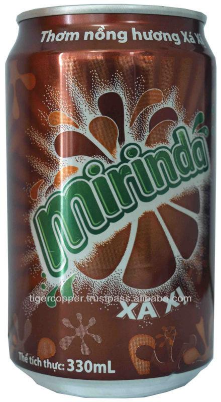 MIRINDA SARSI CAN 330ML/CARBONATED DRINKS/CANNED SOFT DRINKS/MIRINDA SOFT DRINKS/MIRINDA SARSI FROM