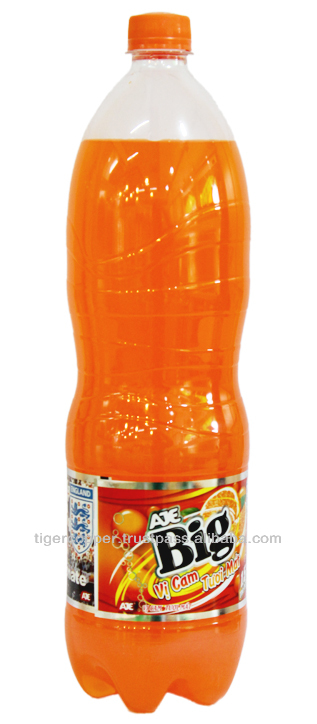 AJE BIG ORANGE PET BOTTLE 1.5L/AJE VIETNAM/THINK BIG VIETNAM/CARBONATED DRINKS/BOTTLED SOFT DRINKS